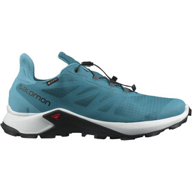 Salomon Supercross 3 GTX Shoes Men crystal teal/white/barrier reef